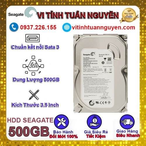 Ổ Cứng 500G Seagate PC Mỏng Sky / 0 Giờ Chạy New